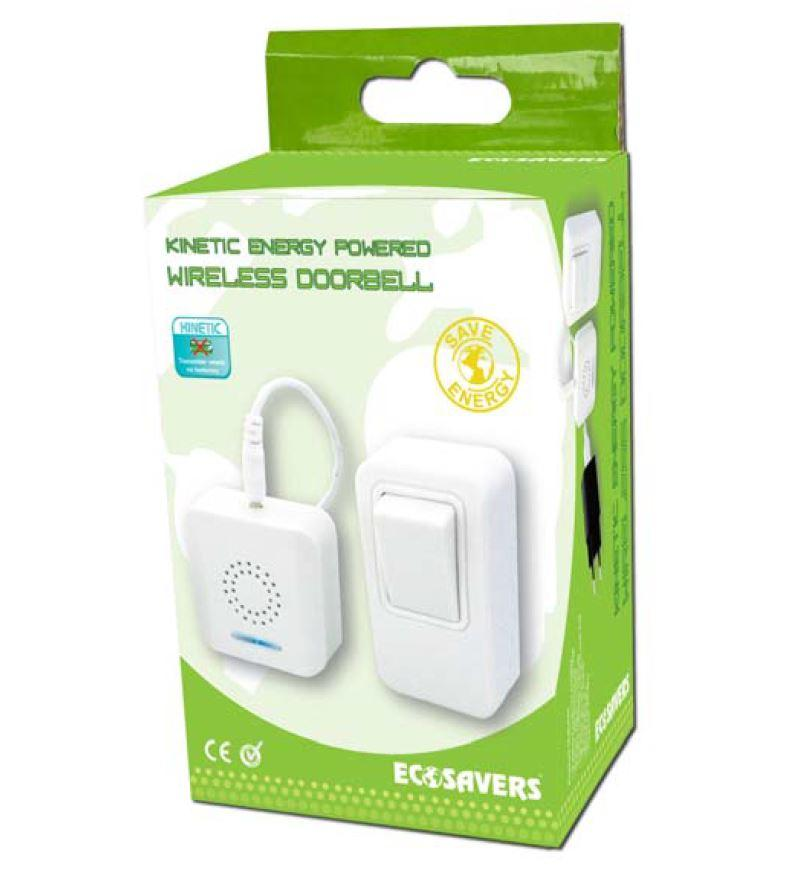EcoSavers Kinetic Energy Powered Wireless Doorbell