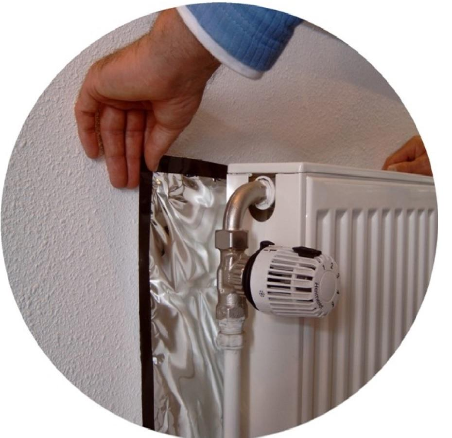 fitting Ecosavers magnetic radiator foil
