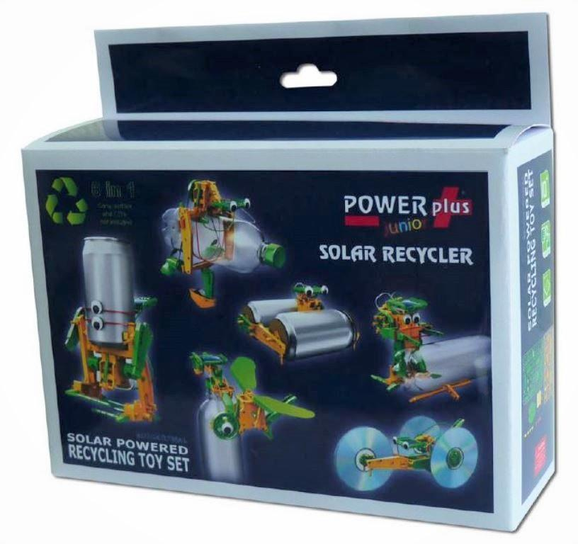 Powerplus Recycler Solar Powered Recycling Toy Set