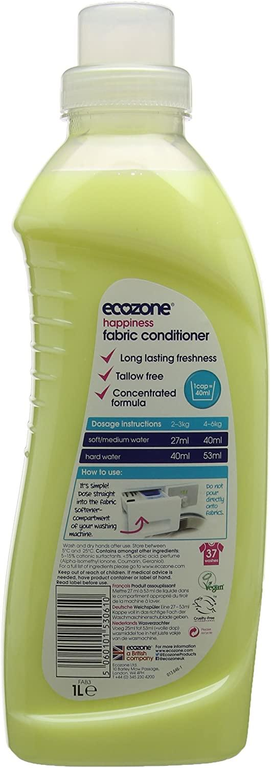 EcoZone Fabric Conditioner Happiness