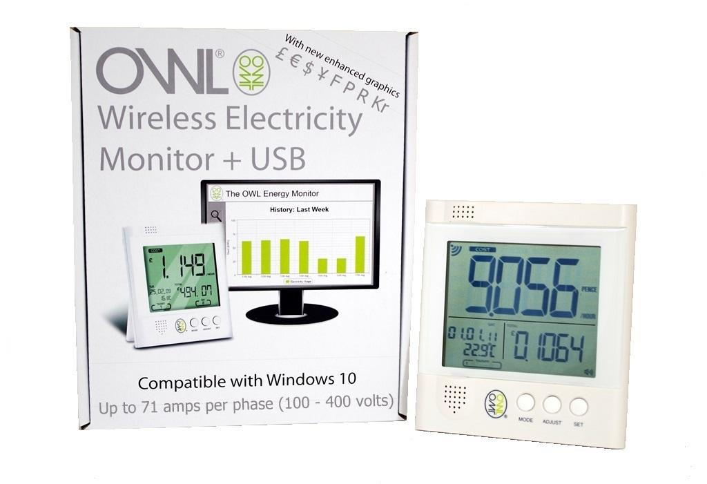OWL +USB Wireless Electricity Monitor