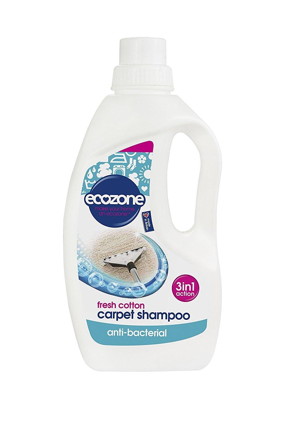 Ecozone Fresh Cotton Carpet Shampoo 1000 ml