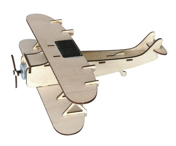 Solar Powered BiPlane Kit by Solar Technology