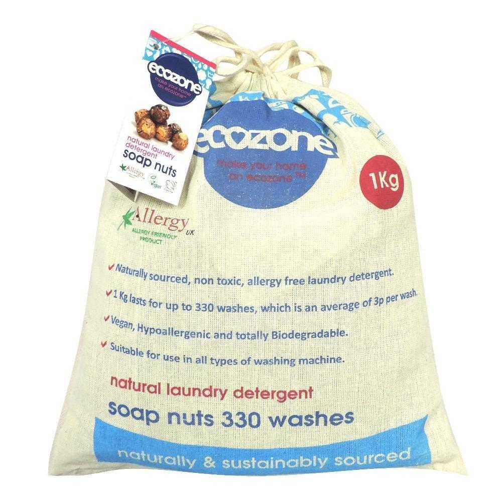 EcoZone Soap Nuts 1kg 330 washes