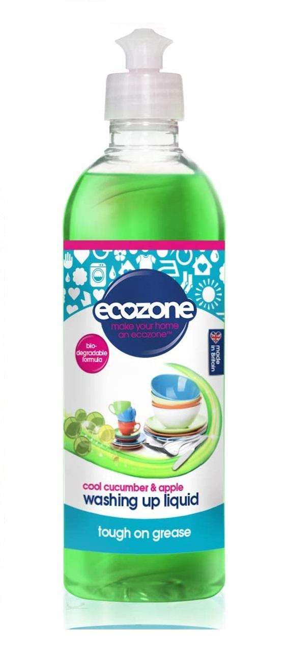 EcoZone Washing Up Liquid Cool Cucumber and Apple