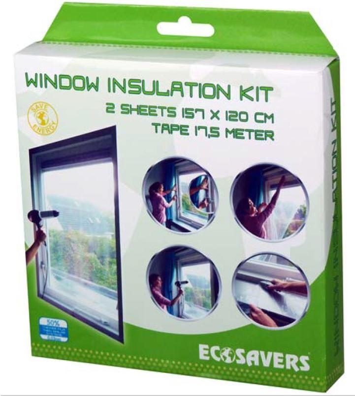 EcoSavers Windon Insulation Kit