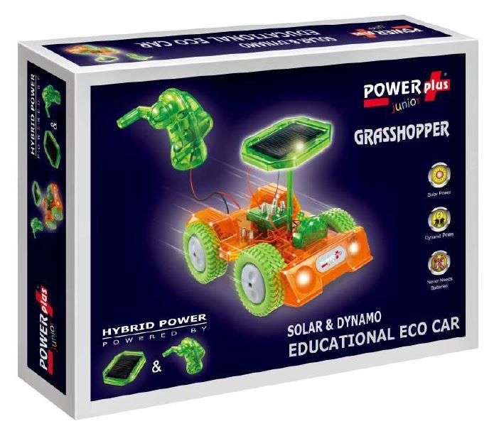 "POWERplus ""Junior"" Grasshopper Hybrid Power Toy Car Kit"