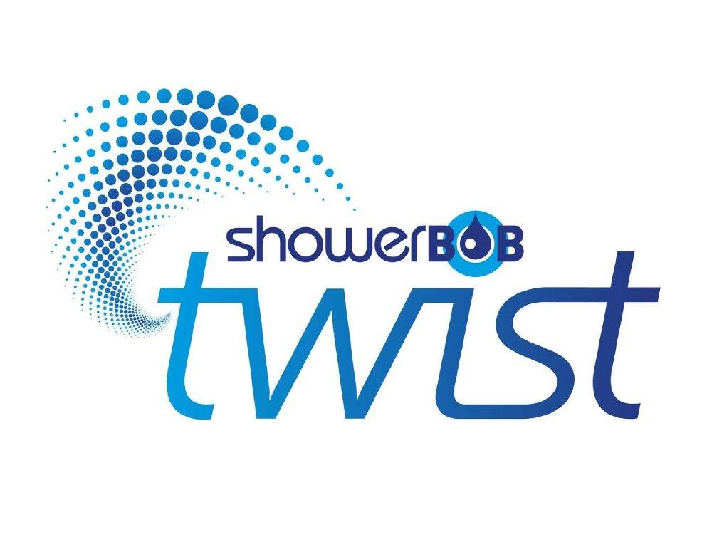 ShowerBoB Twist Shower Timer Aqua Blue