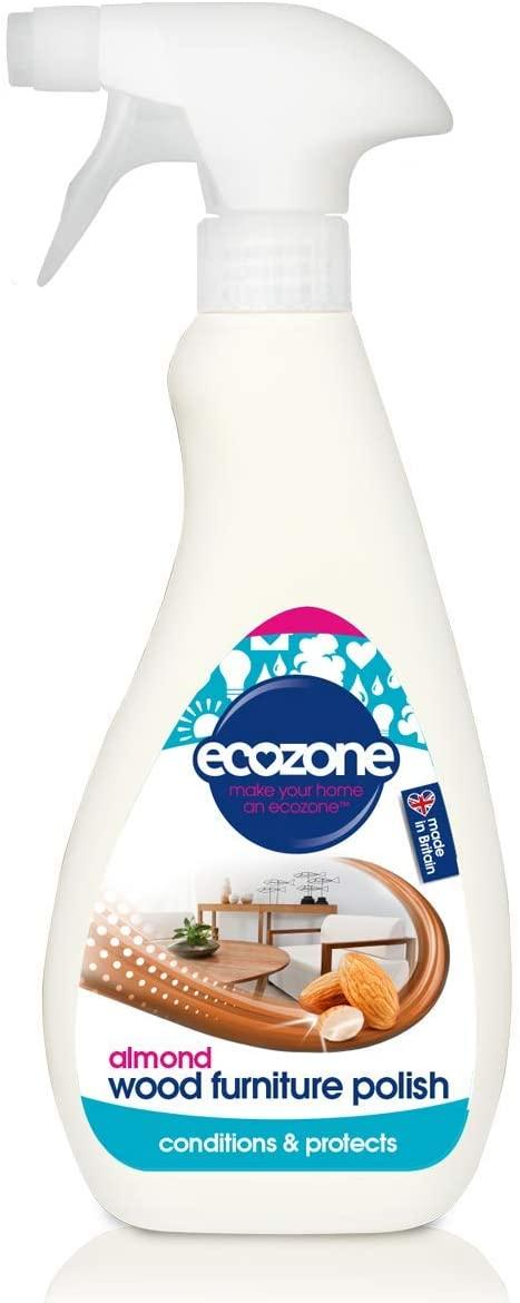 EcoZone Almond Wood Furniture Polish 500ml