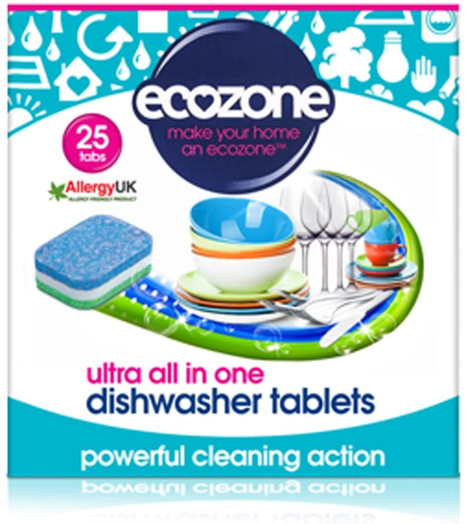 EcoZone Ultra All in One Dishwasher Tablets (25)
