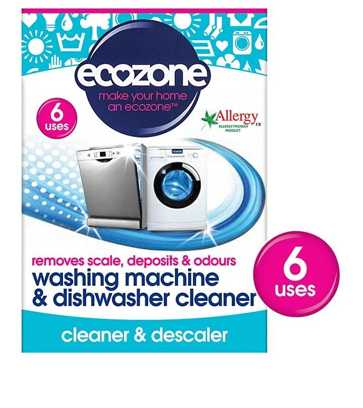 EcoZone Washing Machine and Dishwasher Cleaner & Descaler