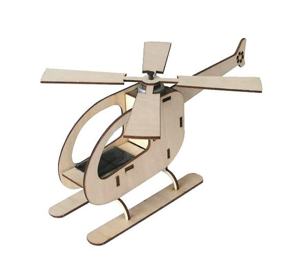 Solar Powered Helicopter Kit by Solar Technology