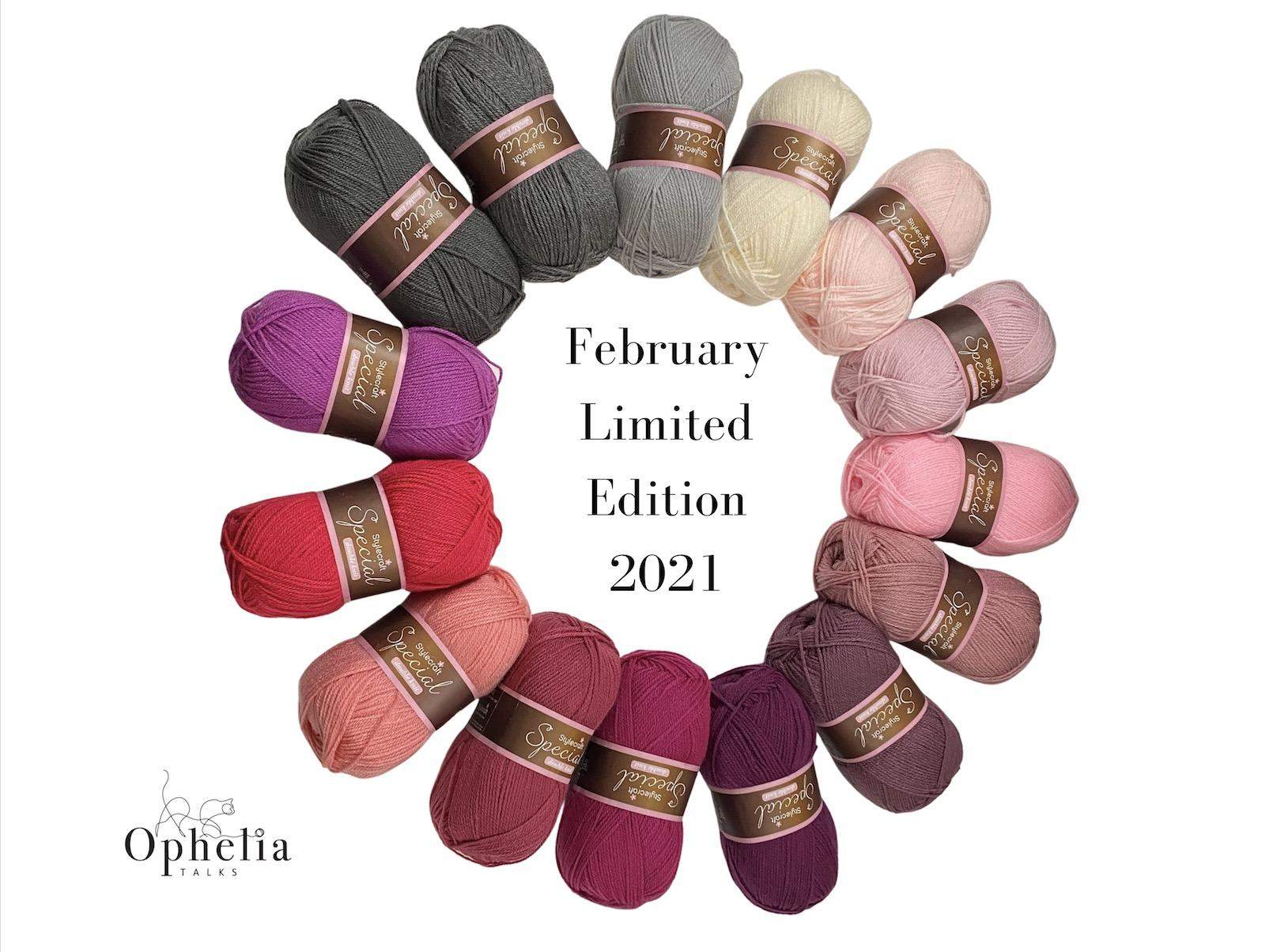 StyleCraft February limited edition colour pack