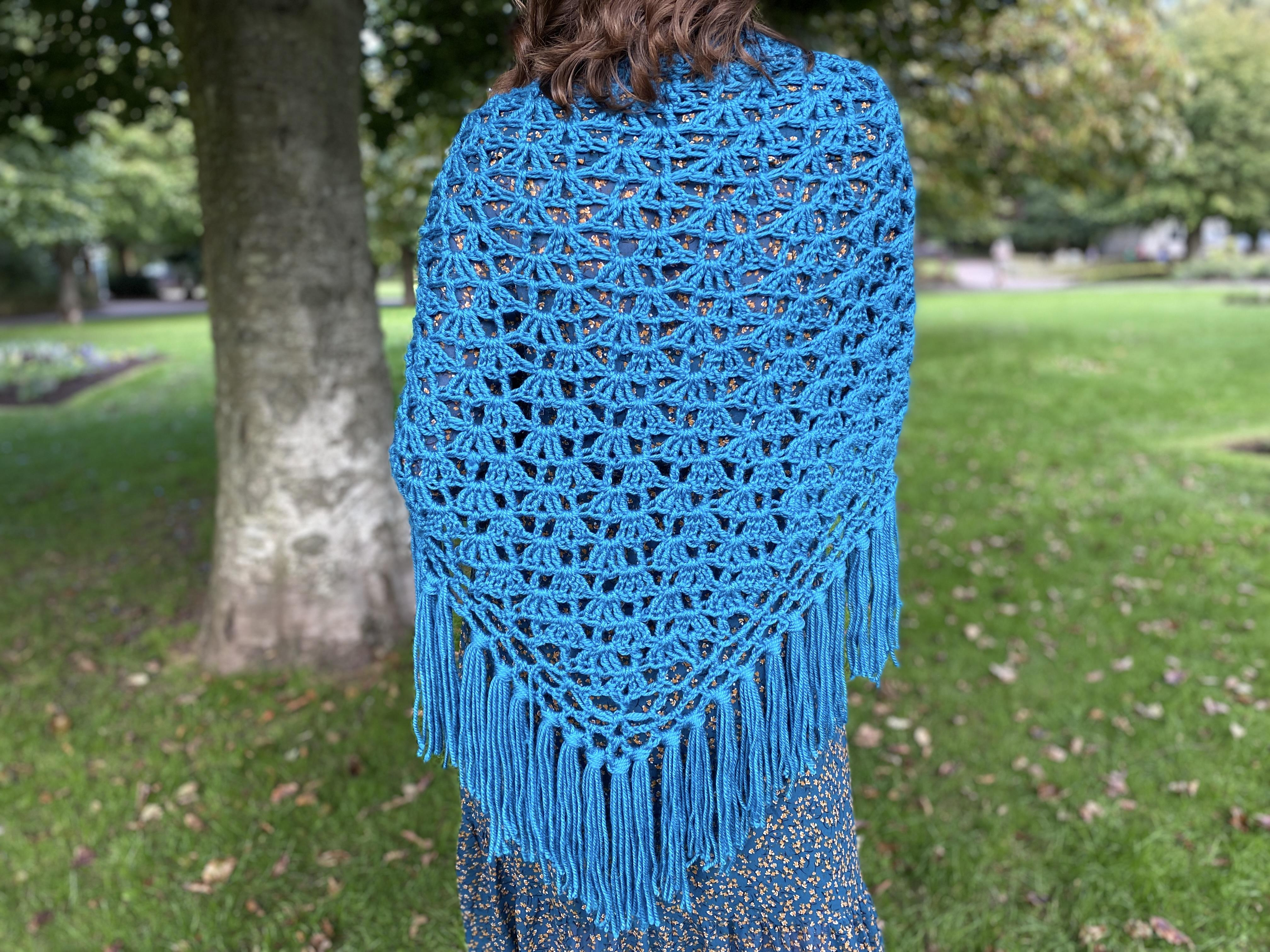 crochet anna shawl pattern