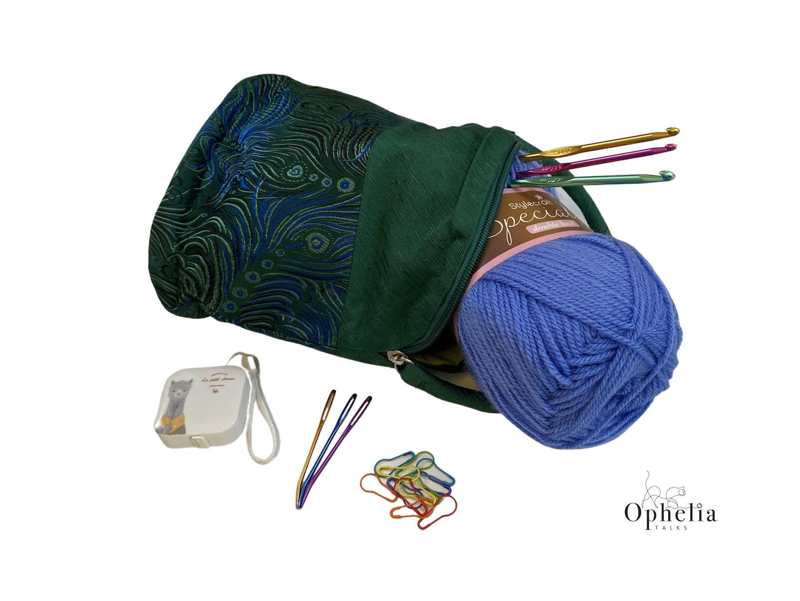 Beginner crochet kit with contents