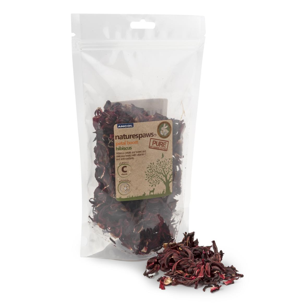 Dried Hibiscus for Rabbits