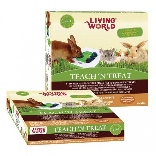 Teach 'n' Treat Interactive Rabbit Toy