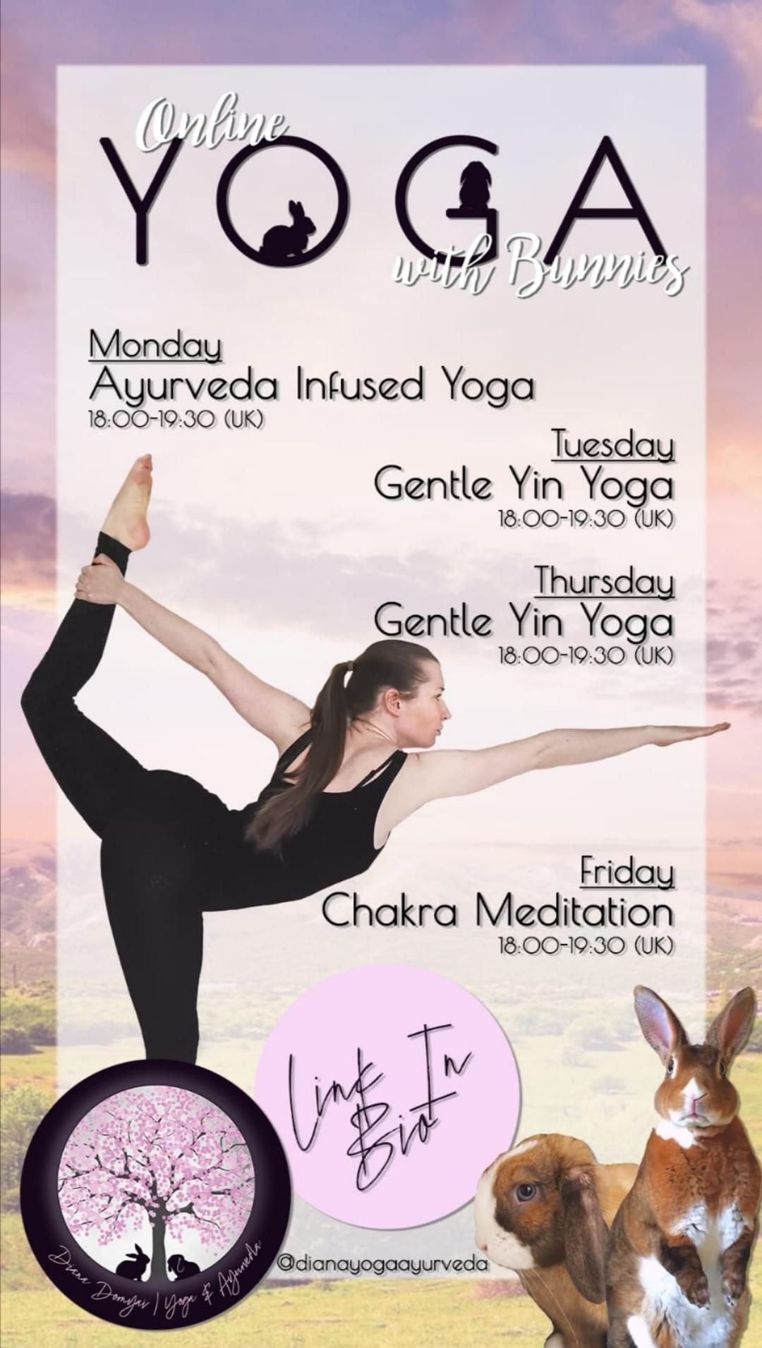 Yoga Classes List