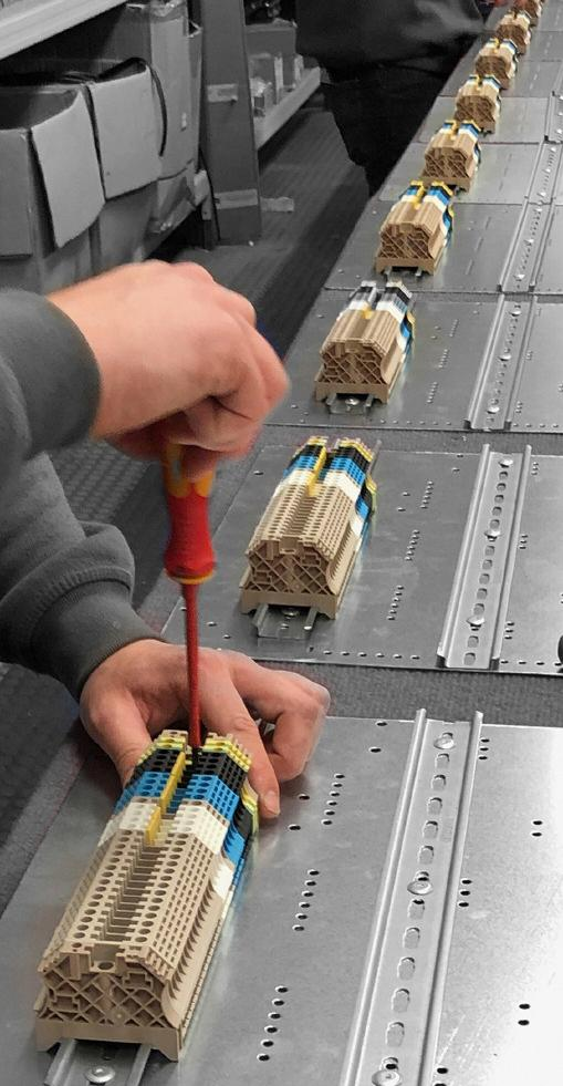 Control panels assembly