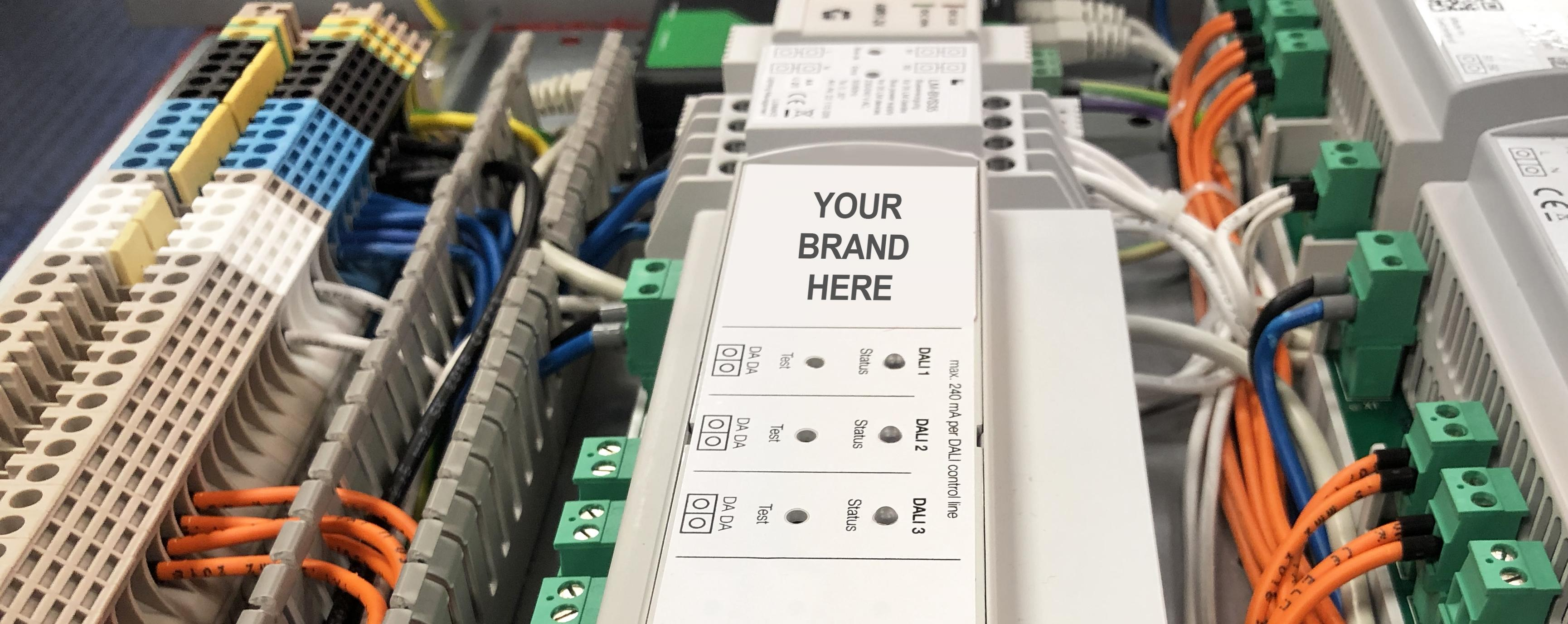 Branded control panels