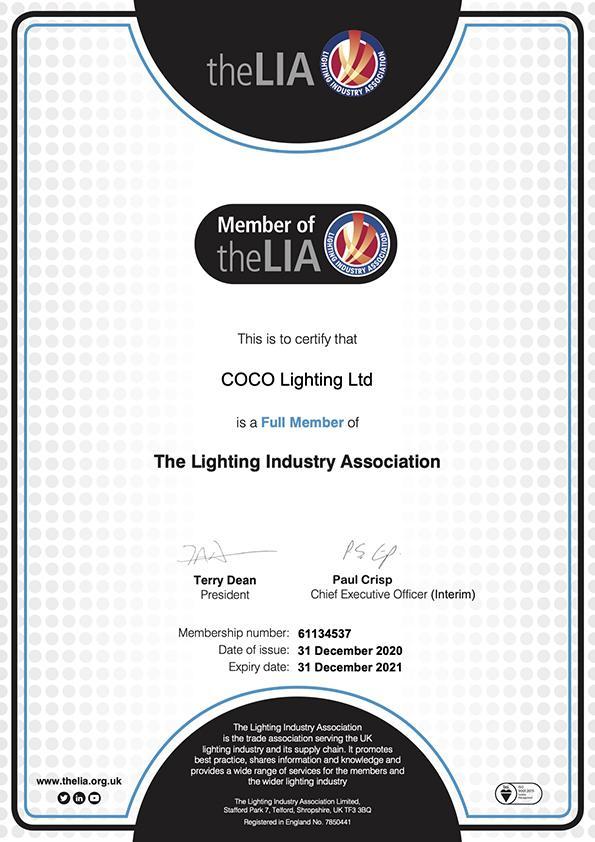 LIA membership