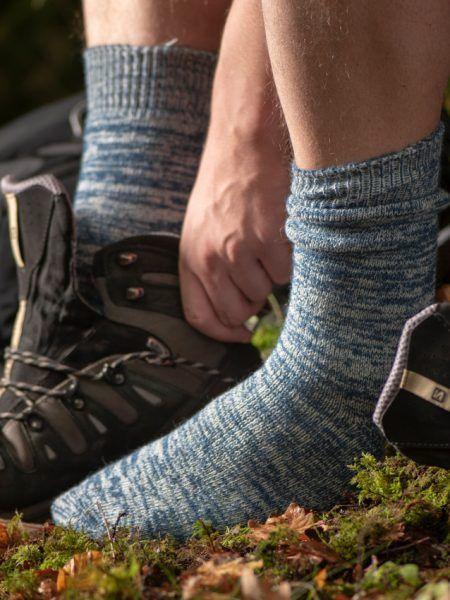 man-wearing-wool-socks