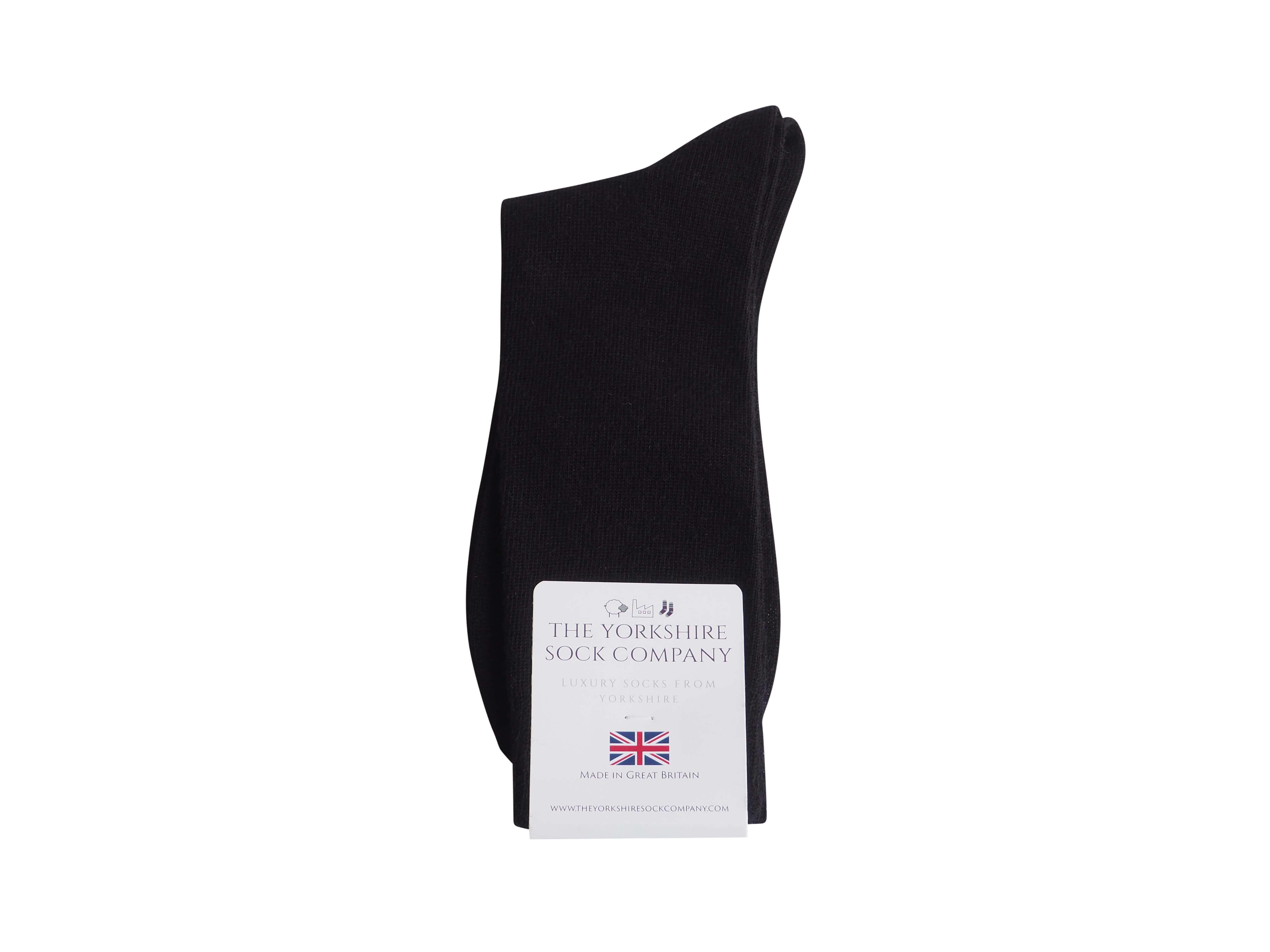 natural-merino-wool-yorkshire-socks-black