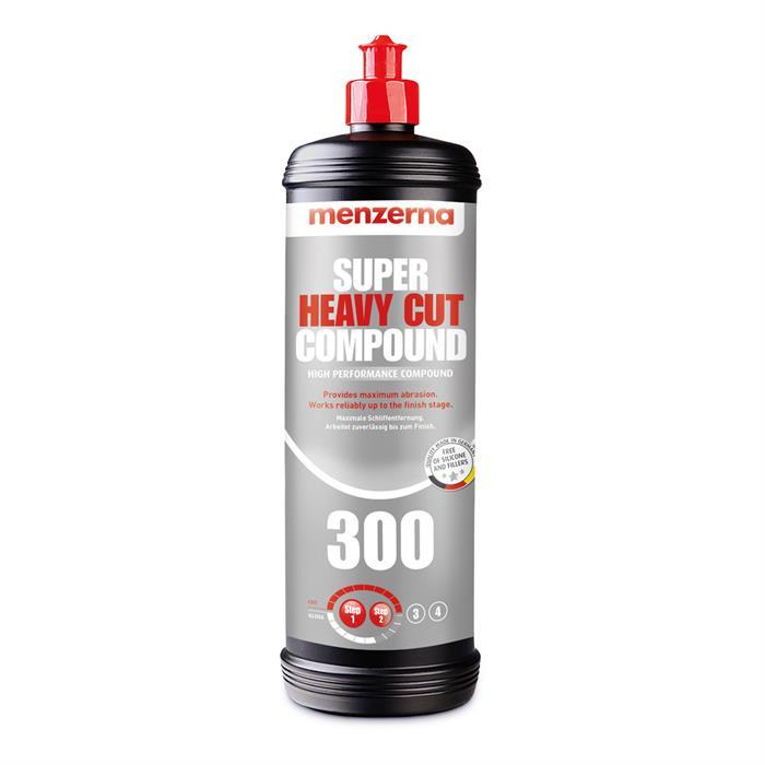 Menzerna Super Heavy Cut Compound 300 1 Litre