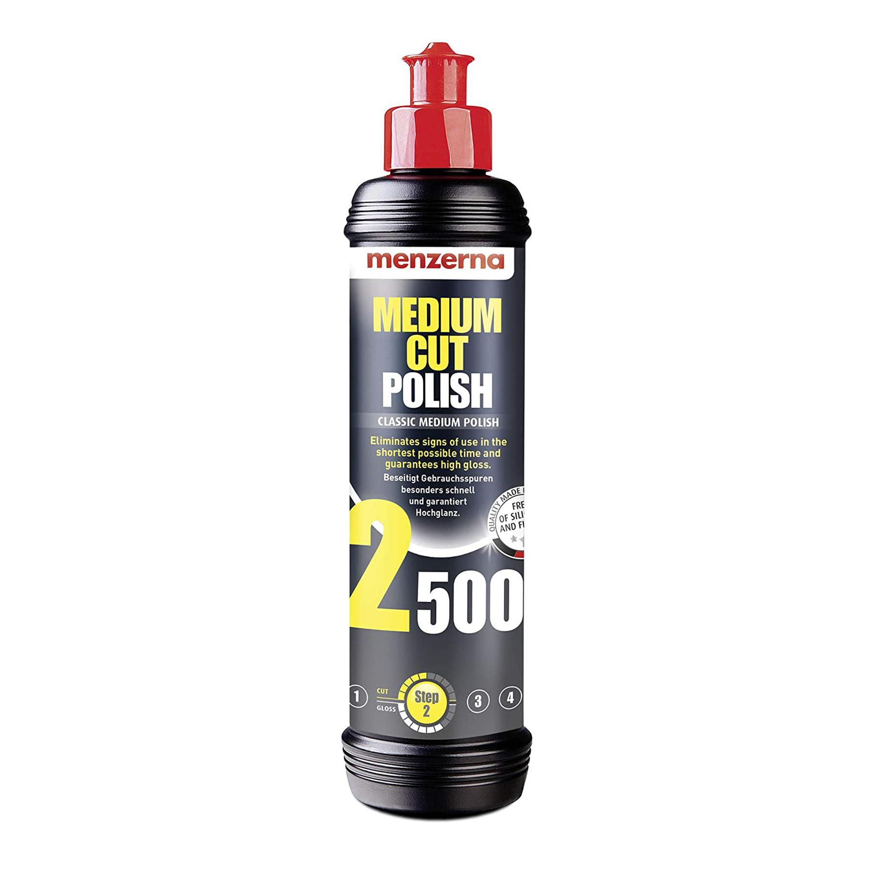 MENZERNA MEDIUM CUST POLISH 2500 250ML