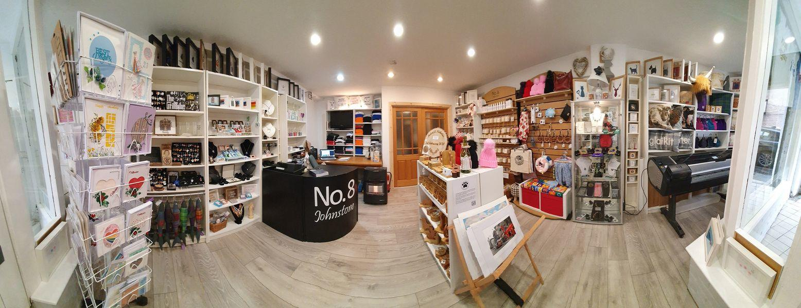 No8 Shop View