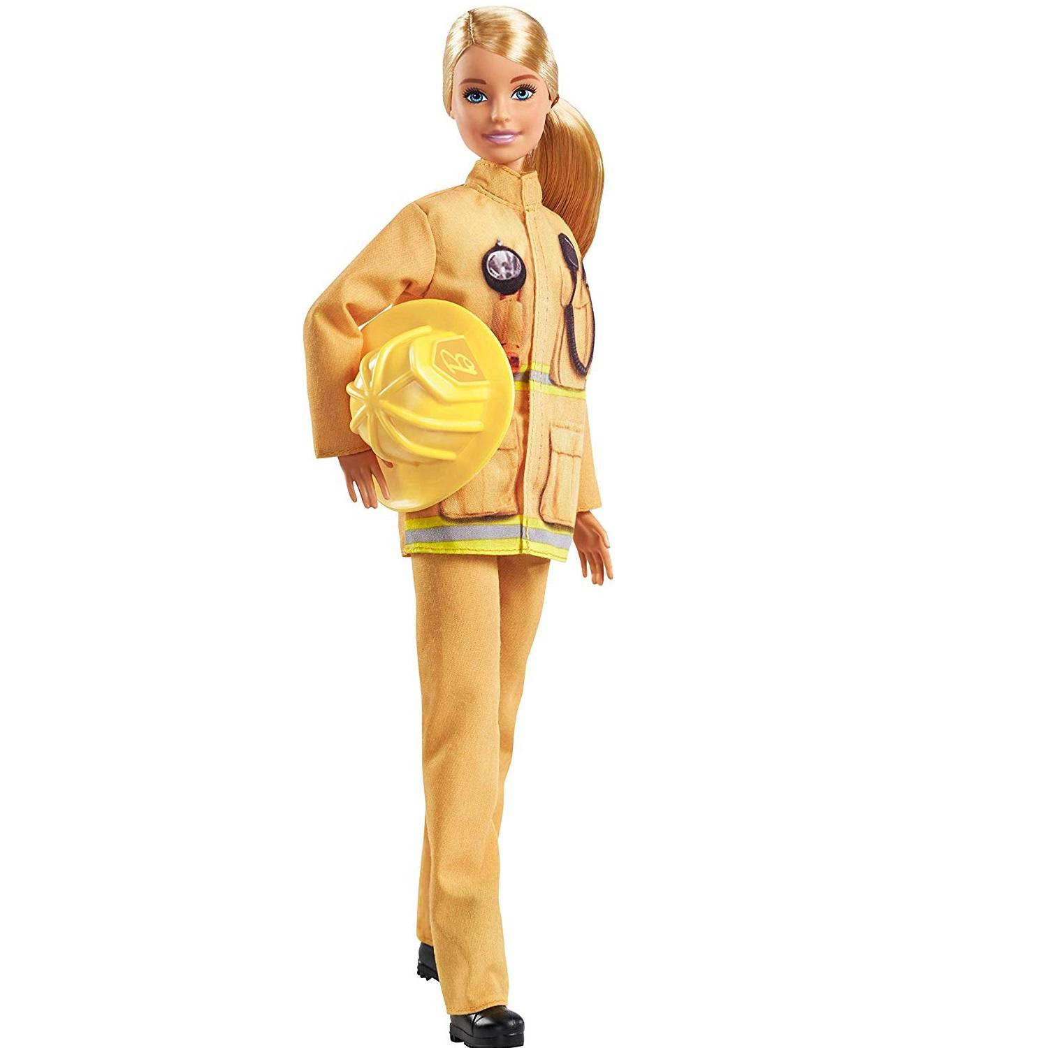 Barbie 60th Anniversary Firefighter Career Doll1
