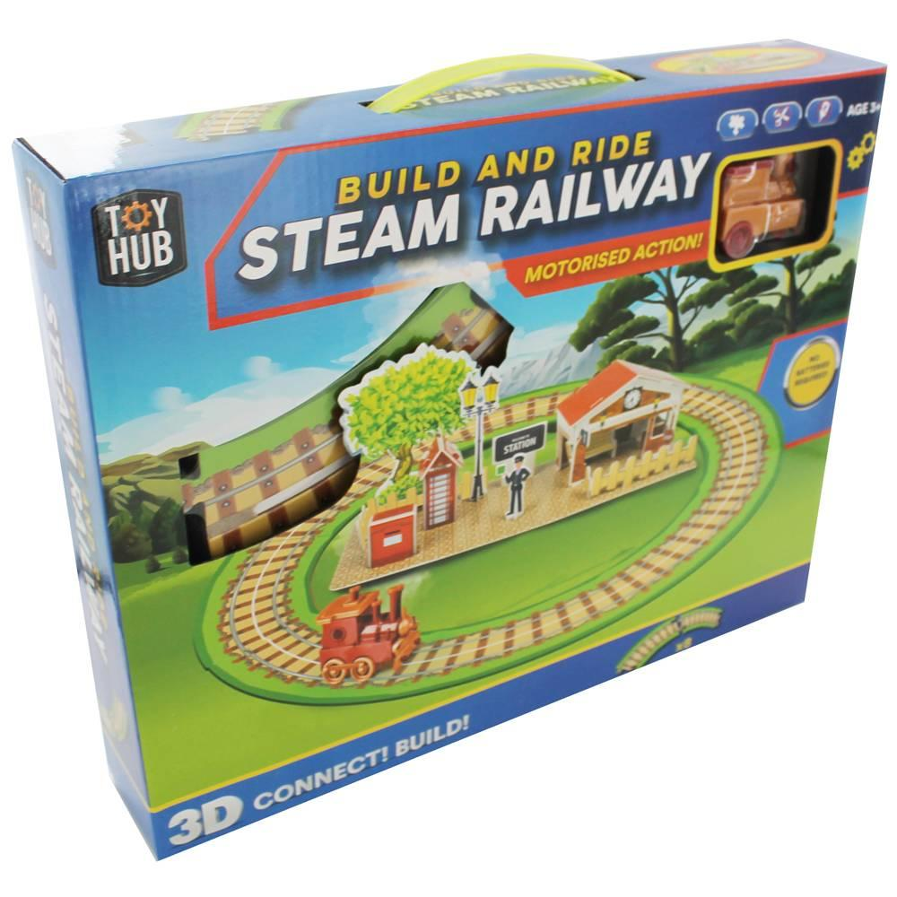 Grafix Build N Ride Steam Railway1