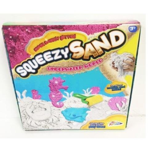 Grafix Squeezy Sand Underwater World Playset1