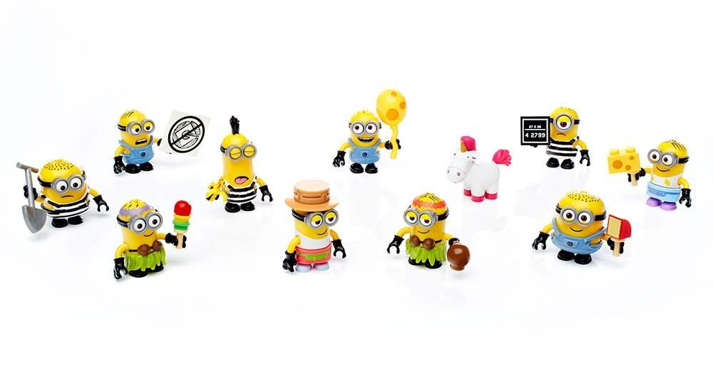 Mega Construx DM Minions Blind Bag Series 10 Micro Figure1