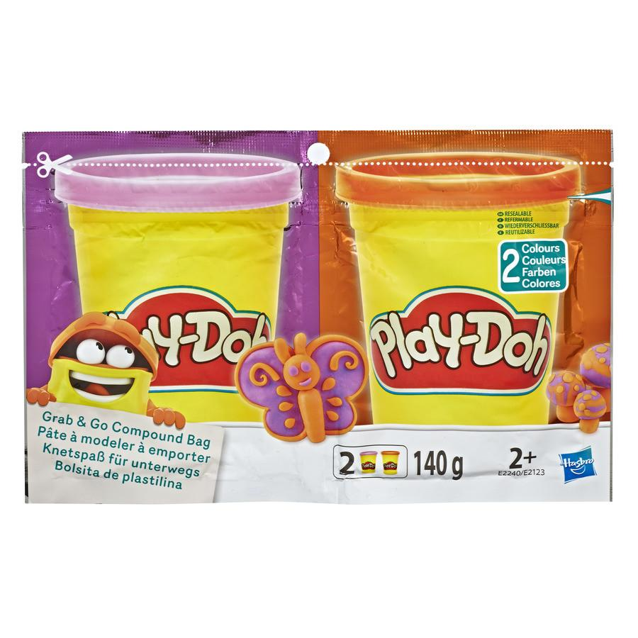 Play-Doh Purple Orange Grab N Go Bag2