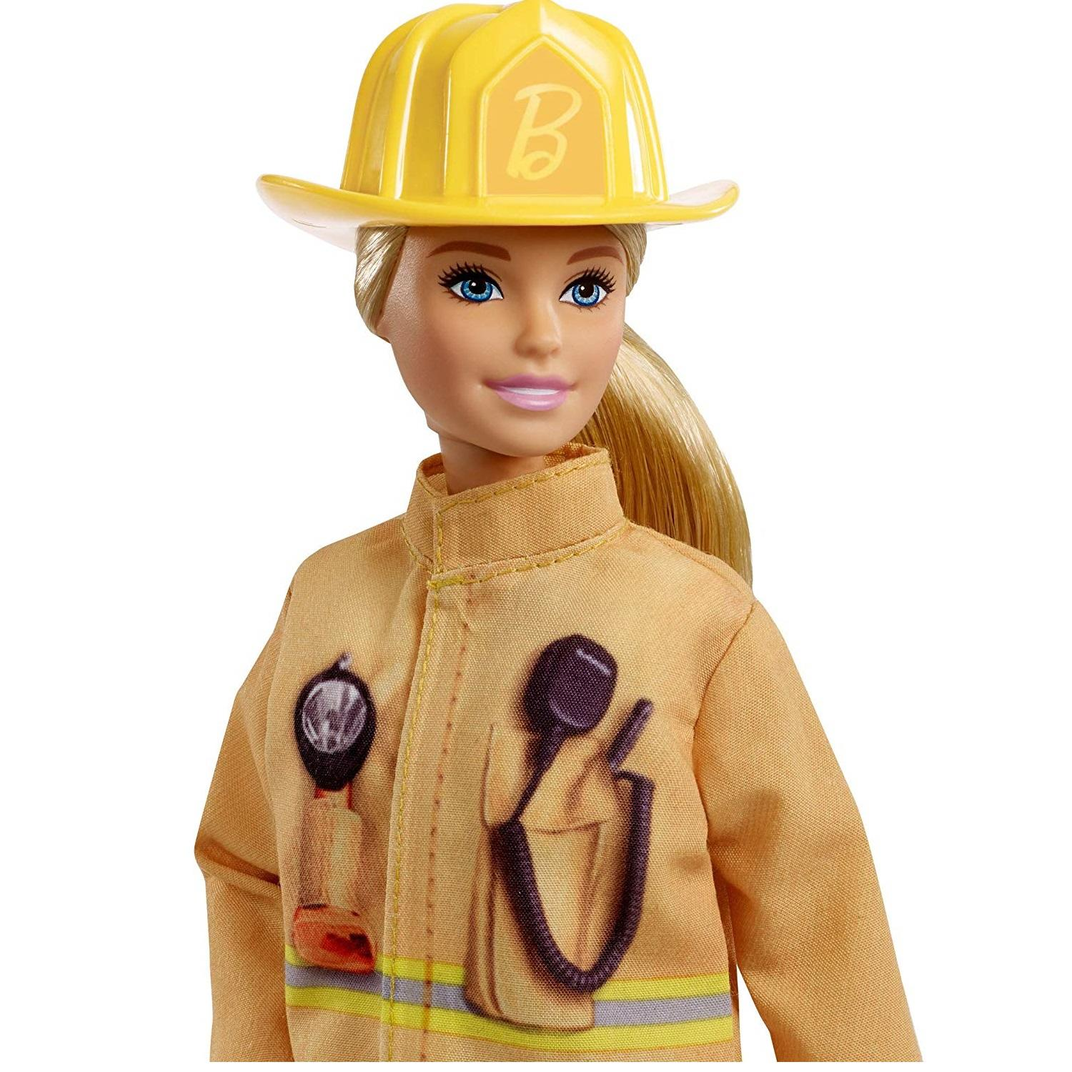 Barbie 60th Anniversary Firefighter Career Doll2