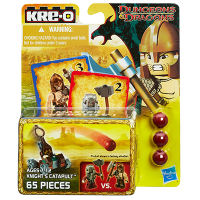Kre-O Dungeons & Dragons Knights Catapult Weapon Set1