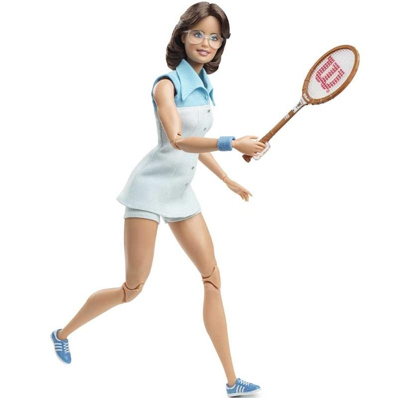 Barbie Billie Jean King Inspiring Women Doll2
