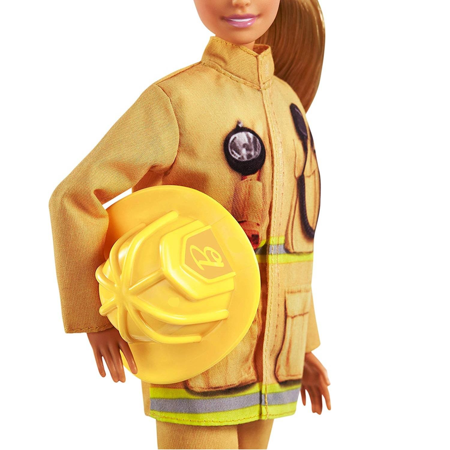 Barbie 60th Anniversary Firefighter Career Doll3