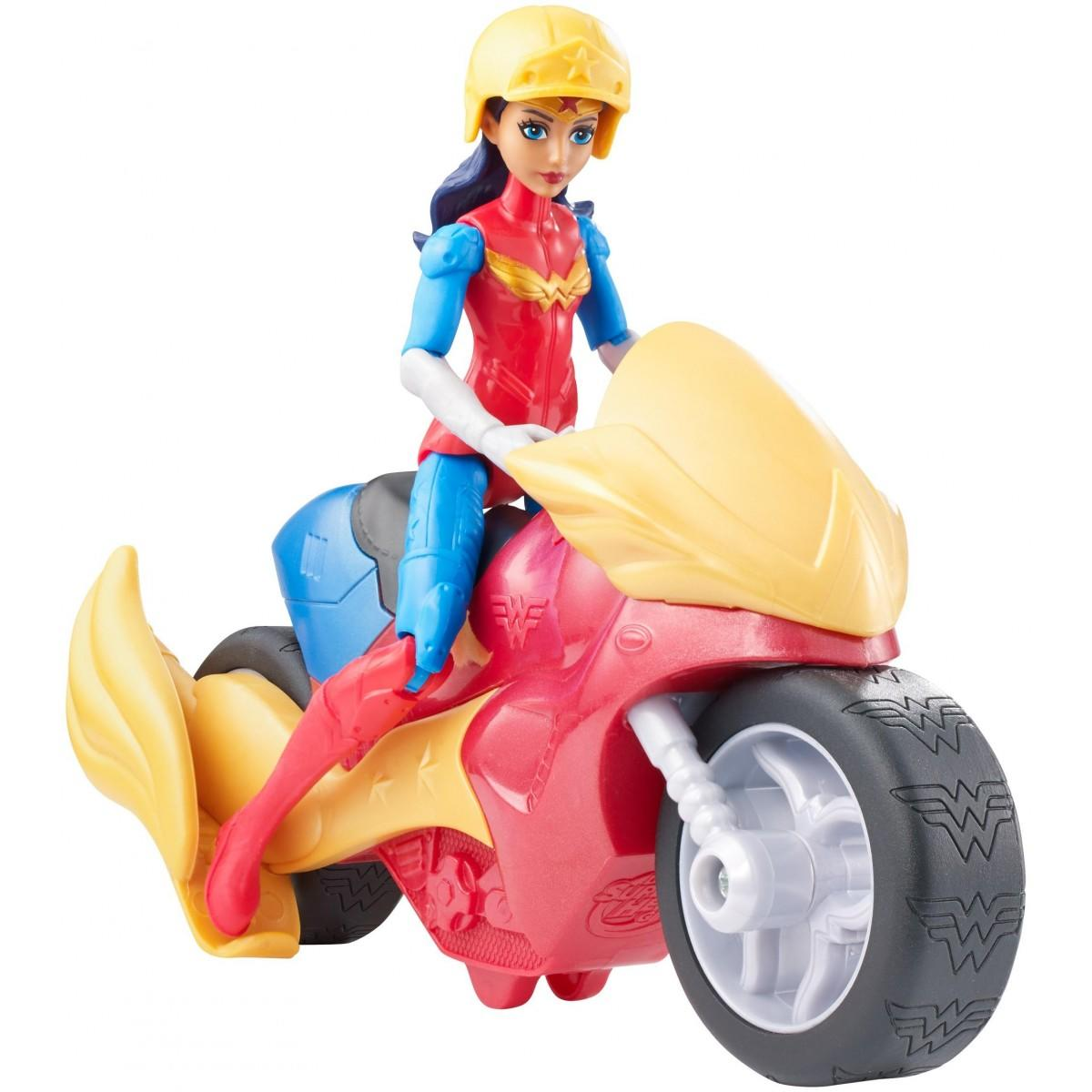 DC Super Hero Girls Motorcycle Wonder Woman1