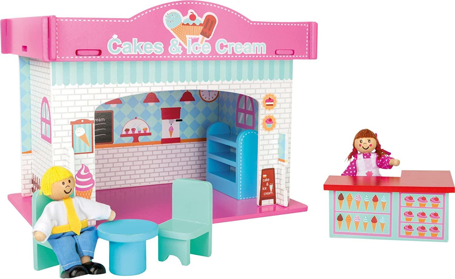 Small Foot Wooden Ice Cream Shop Playset1