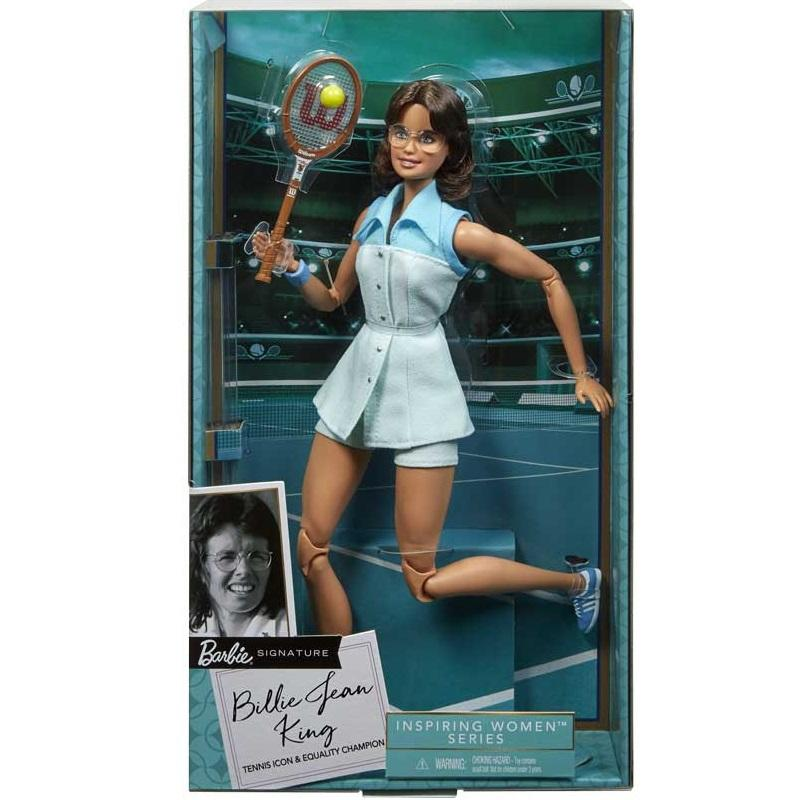 Barbie Billie Jean King Inspiring Women Doll3