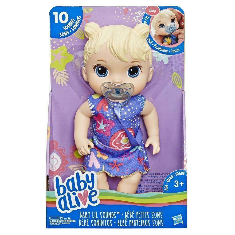 Baby Alive Baby Lil Sounds Blonde Doll3