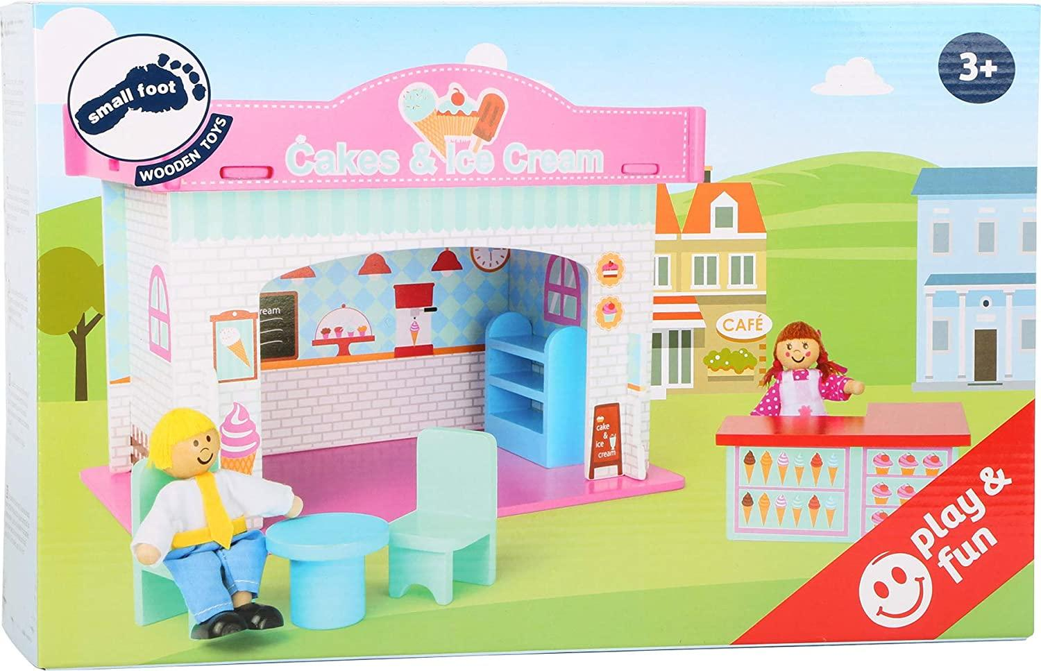 Small Foot Wooden Ice Cream Shop Playset2