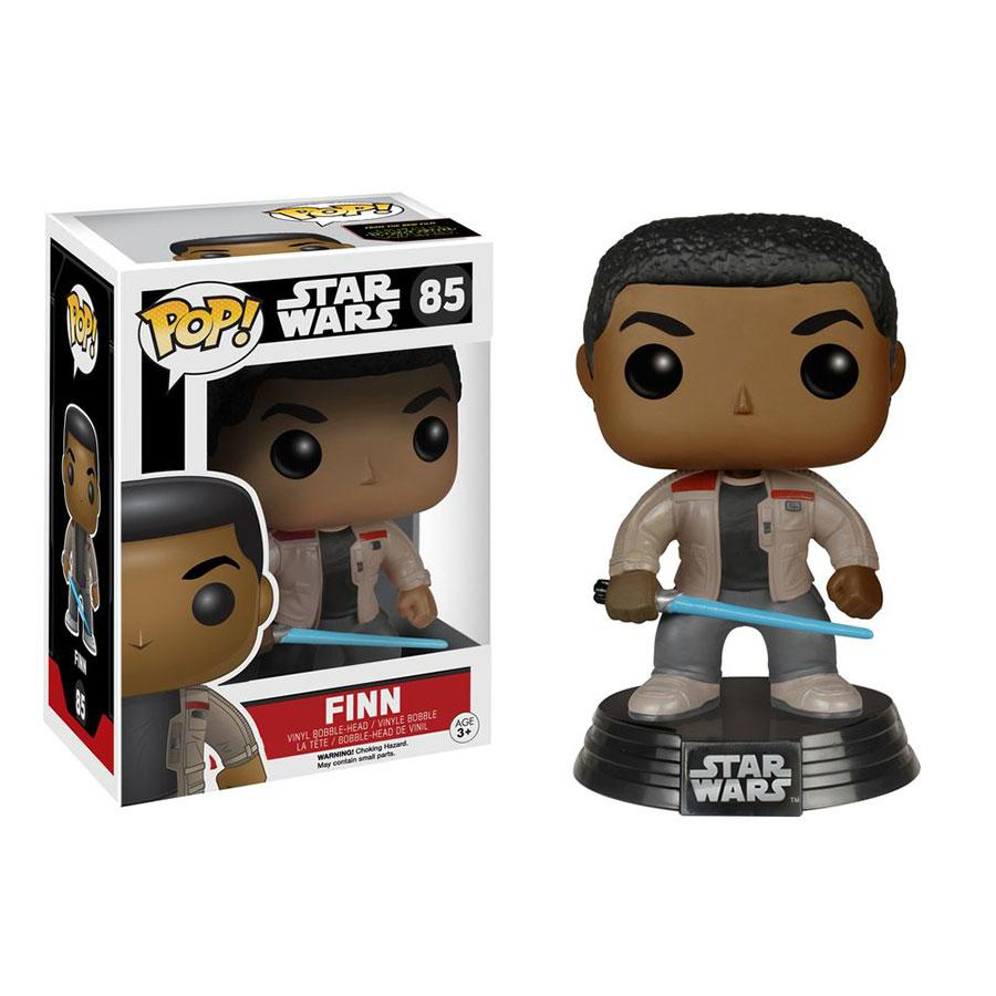 Pop Vinyl Star Wars Finn W/Lightsaber Figure
