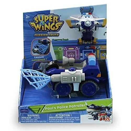 Super Wings Paul's Police Patroller3