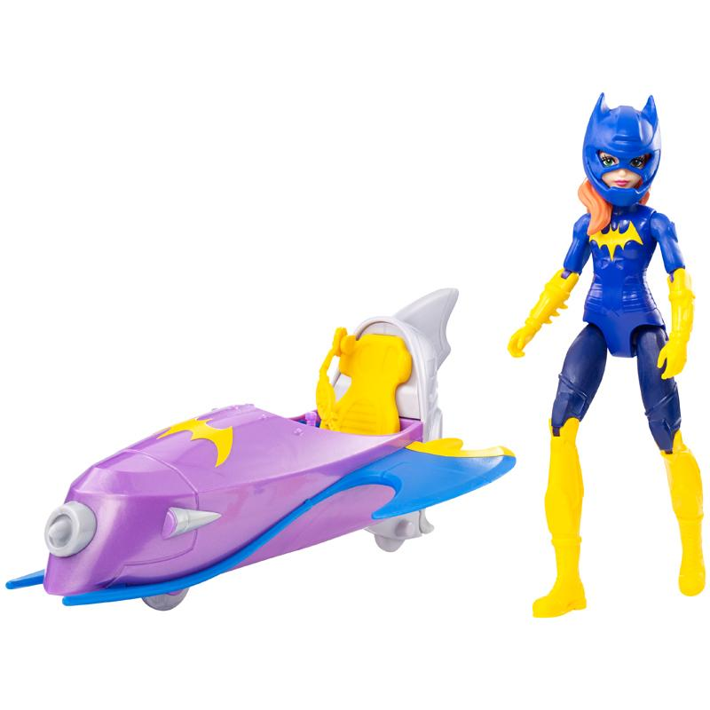 DC Super Hero Girls Batjet Batgirl1