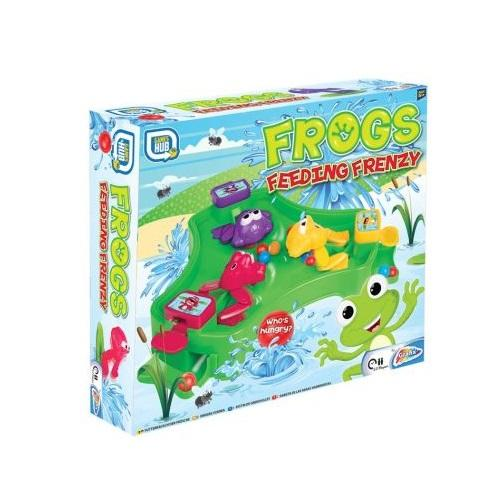 Grafix Frogs Feeding Frenzy Game