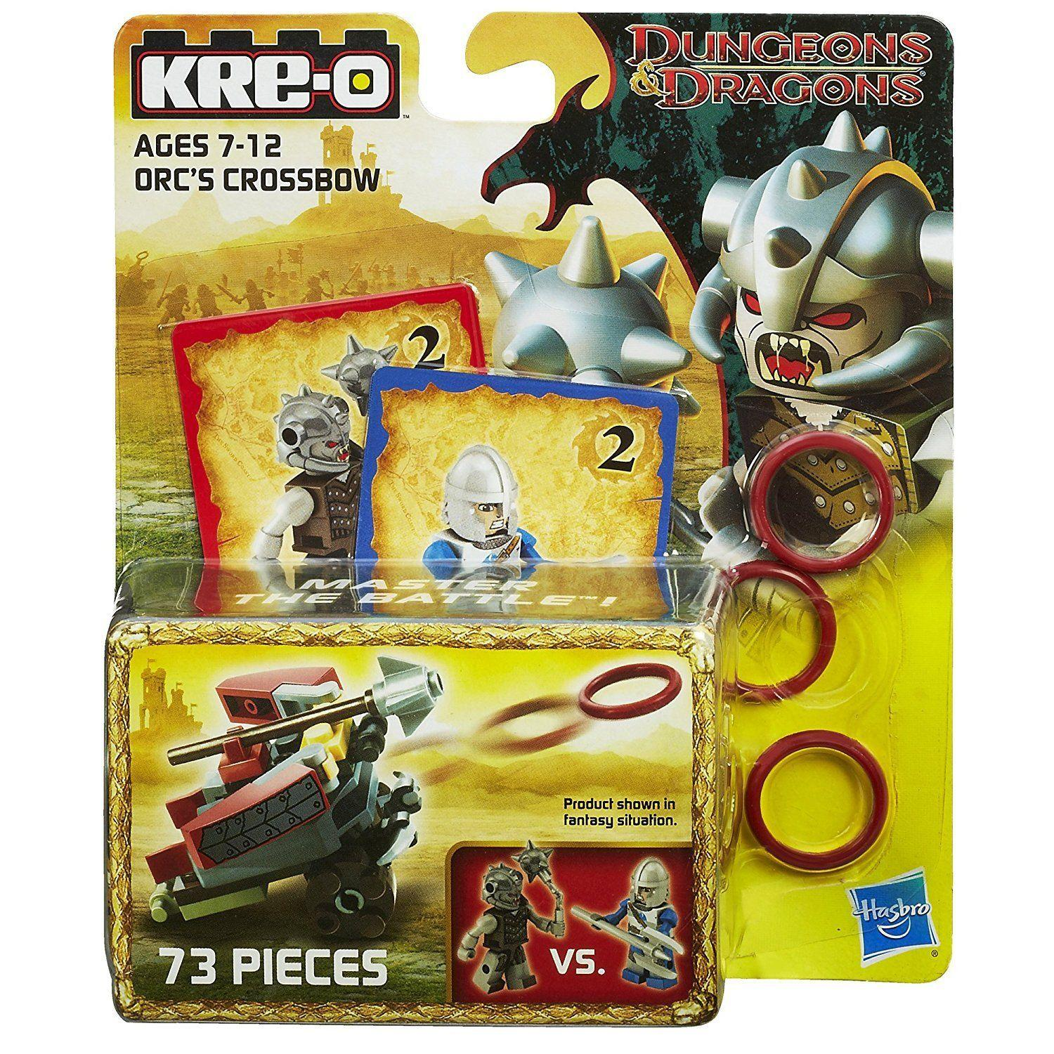 Kre-O Dungeons & Dragons Orc's Crossbow Weapon Set1