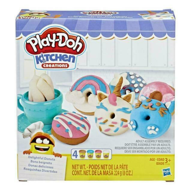 Play-Doh Kitchen Creations Delightful Doughnuts1